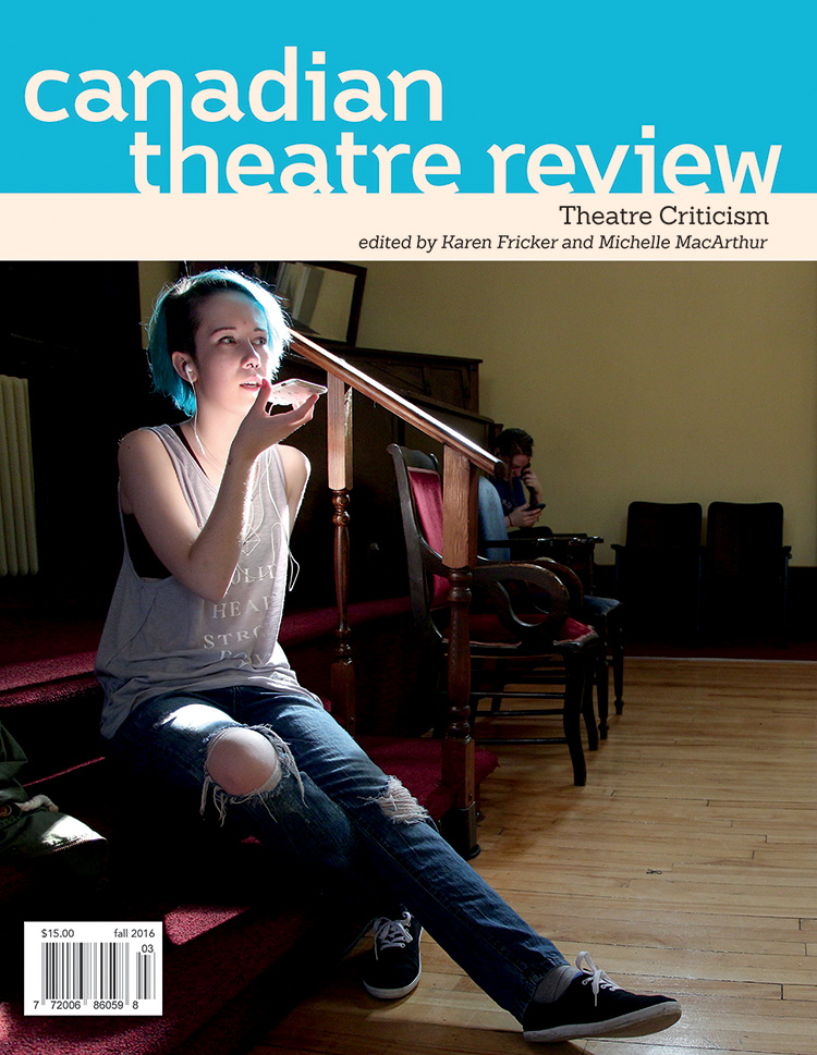 Canadian Theatre Review