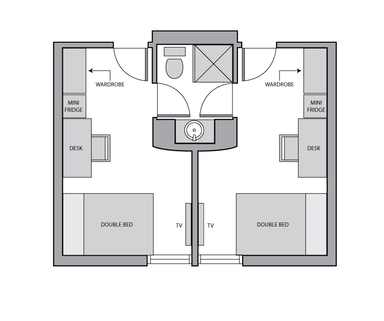 Smith and Brant House Premium Room Layout